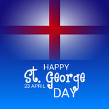 St. George Day. Illustration of a Banner for St. George Day Royalty Free Stock Photos