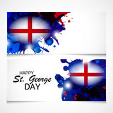 St. George Day. Illustration of a Banner for St. George Day Royalty Free Stock Photography
