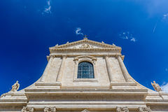 St George die Märtyrer-Kirche in Locorotondo Stockbilder