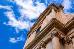 St George die Märtyrer-Kirche in Locorotondo Stockfotografie