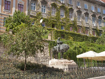 St. George and the Dragon statue in Zagreb Stock Photography