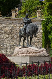 St. George and the Dragon, Zagreb Royalty Free Stock Photography