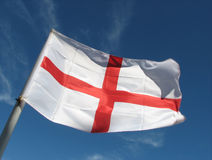 St George flag Royalty Free Stock Image