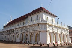 St. George Forane Church, Edathua. Back view of St. George Forane Church located in Edathua in Alappuzha district of Kerala, India royalty free stock images