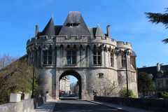 St George gate - Vendôme - France Royalty Free Stock Photo
