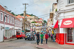 St George, Grenada W I images stock