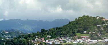 St George Grenada wybrzeże Fotografia Royalty Free