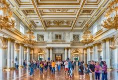 St George Hall, eremu muzeum, St Petersburg, Rosja Fotografia Stock