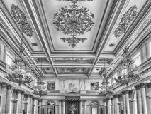 St. George Hall, Hermitage Museum, St. Petersburg, Russia Stock Images