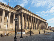 St George Hall in Liverpool Royalty Free Stock Photo