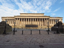 St George Hall in Liverpool Royalty Free Stock Photos
