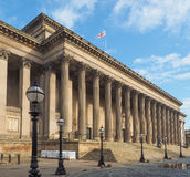St George Hall in Liverpool Royalty Free Stock Image