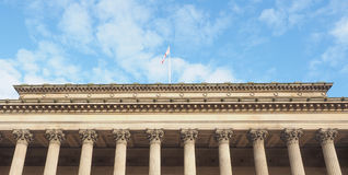 St George Hall in Liverpool Royalty Free Stock Photography
