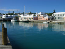 St. George Harbour. The harbour, St. George, Bermuda royalty free stock photography