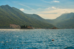 St.George Island in Montenegro Royalty Free Stock Photos