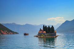 St. George island in Montenegro Royalty Free Stock Image