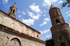 St. George kathedraal in Signagi Stock Foto's