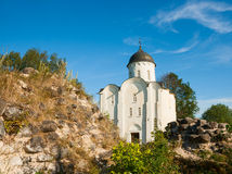 St George Kerk in Staraya Ladoga Royalty-vrije Stock Afbeeldingen