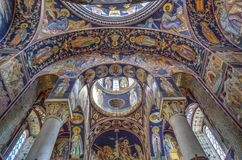 St George Kirche bei Oplenac, Serbien Stockfoto