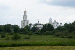 St George klooster – één van de oudste kloosters van Rusland royalty-vrije stock afbeeldingen