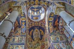 St George kościół przy Oplenac, Serbia Zdjęcie Royalty Free