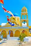 St George kościół w Santorini fotografia royalty free