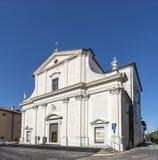 St George kościół w Udine fotografia stock