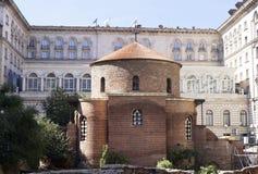 St George kyrka i Sofia arkivbild