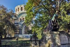 St George le mausolée de chapelle de conquérant, ville de Pleven image stock
