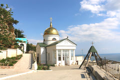 St. George monastery at Cape Fiolent stock image