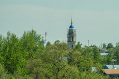 St. George monastery in the Russian town of Meshchovsk Kaluga region. Stock Photos