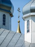 St. George monastery in the Russian town of Meshchovsk Kaluga region. Royalty Free Stock Images
