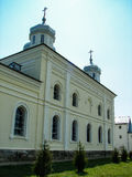 St. George monastery in the Russian town of Meshchovsk Kaluga region. Stock Image