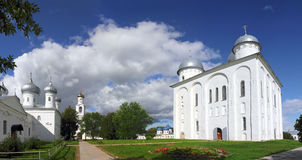 St. George Monastery in Veliky Novgorod Royalty Free Stock Photos