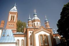 St. George orthodox church, Bauska, Lithuania Stock Photo