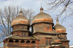 St George Orthodox Church dans Drohobych, Ukraine photos libres de droits