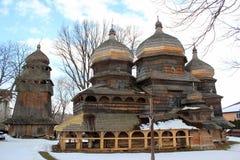 St George Orthodox Church en Drohobych, Ucrania imagenes de archivo