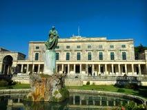 St. George palace in Corfu island in Greece Stock Photo