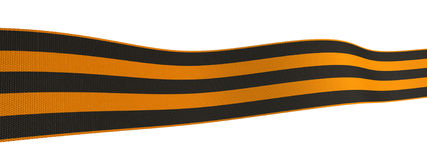 St George ribbon Royalty Free Stock Images