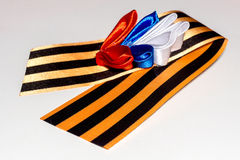 St. George Ribbon Royalty Free Stock Image