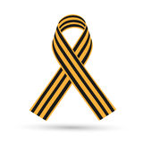 St. George Ribbon. On a white background vector illustration