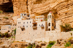 St. George on the rock Greek convent Royalty Free Stock Photo