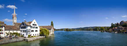 St. George's Abbey in Stein am Rhein Stock Photo