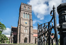 St. George's Anglican Church, Basseterre, St. Kitts Stock Photo