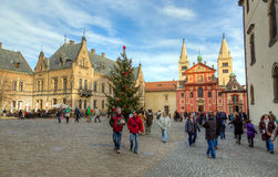 St. George's Basilica at Prague Castle, Czech Republic Royalty Free Stock Photography