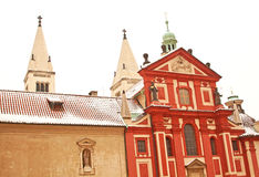 St. George's Basilica in Prague Castle Royalty Free Stock Images