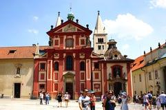 St. George's Basilica in Prague Stock Image