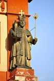 St George ' s-basilika, Prague slott royaltyfri bild