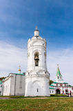 St. George's bell tower and Palace (Front) Gate, Kolomenskoye Park Royalty Free Stock Photos