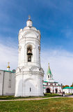 St. George's bell tower and Palace (Front) Gate, Kolomenskoye Park. Moscow Stock Image
